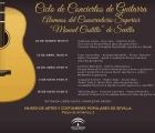Ciclos de conciertos de guitarra, por alumnos del Conservatorio Superior Manuel Castilla