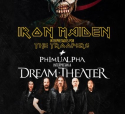 Entradas para Tributo Iron Maiden, por The Troopers y Phimualpha
