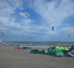 Kitesurfing Almeria en Almerimar