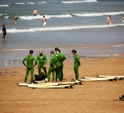 Slash Surf School Gijón en Gij�n